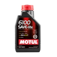 MOTUL 6100 Save-Lite 5W20, 1л 108009